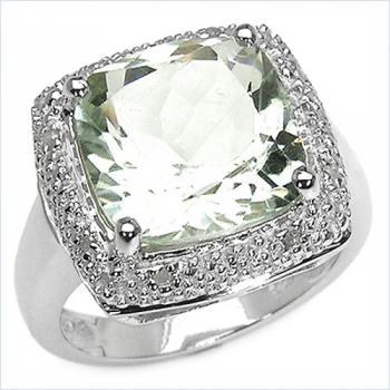 schmuck schmidt 24 seltener gr ner amethyst diamant ring. Black Bedroom Furniture Sets. Home Design Ideas