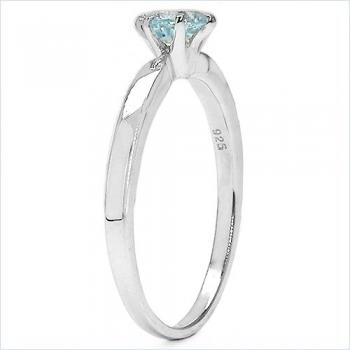 Ritani 'Endless Love' Three Stone Engagement Ring